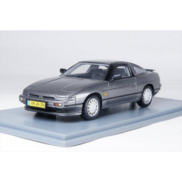 ネオ 1/43 日産 200SX S13 1991-1994 メタリックグレー 完成品ミニカー NEO44526
