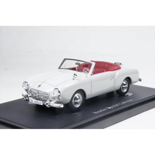 オートカルト 1/43 Beutler Spezial コンバーチブル 1953 シルバー/メタリック 完成品ミニカー 05019