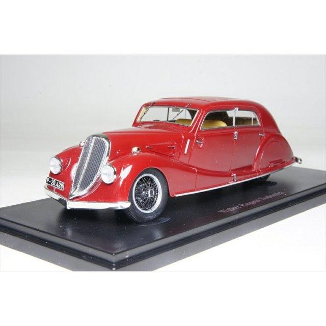 オートカルト 1/43 ウォルター リージェント ソドムカ 1934 チェコ レッド 完成品ミニカー 4014