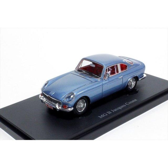 オートカルト 1/43 MG-B Jacques Coune 1963 メタリックブルー 完成品ミニカー 05011