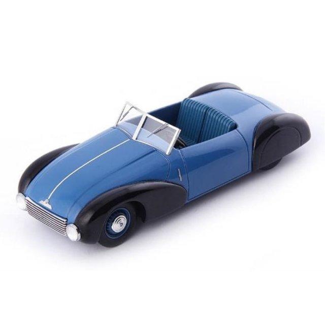 オートカルト 1/43 BMW 340/1 ロードスター 1949 ブルー/ブラック 完成品ミニカー 6029