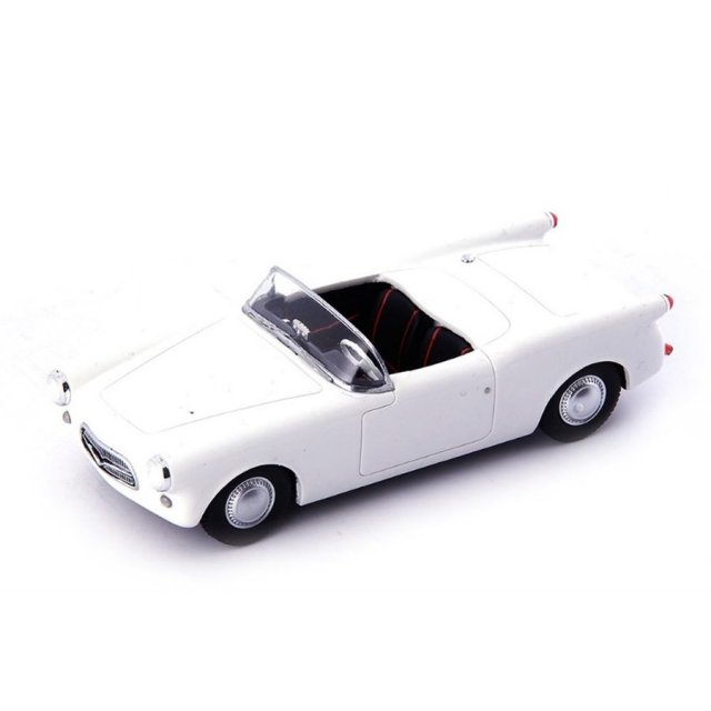 オートカルト 1/43 アウトウニオン DKW Michaux Spider 1954 ホワイト 完成品ミニカー 02021