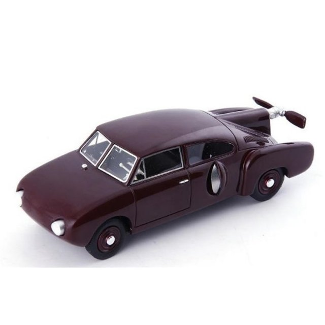 オートカルト 1/43 エアロカー コルドバ 1953 ダークレッド 完成品ミニカー 04024