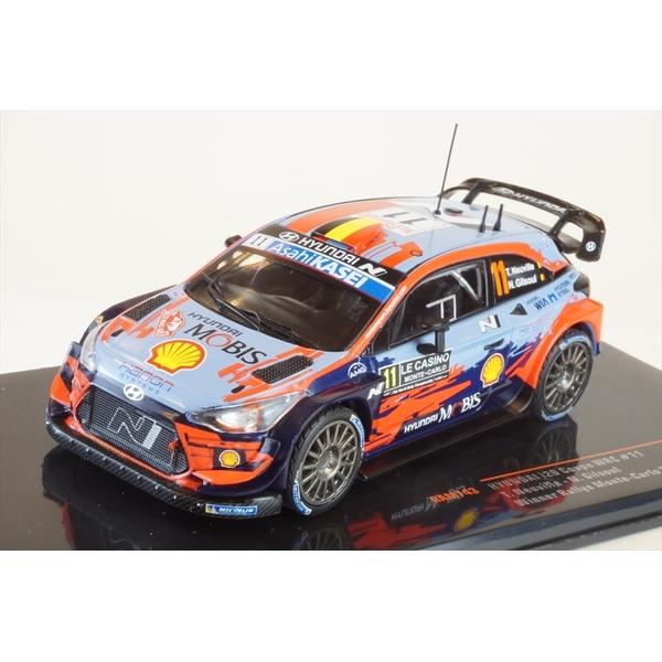 イクソ 1/43 ヒュンダイ i20 クーペ WRC No.11 2020 ラリー・モンテカルロ ウィナー T.ヌーヴィル/N.ジルソウル 完成品ミニカー RAM743