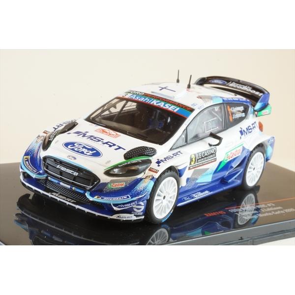 イクソ 1/43 フォード フィエスタ WRC No.3 2020 ラリー・モンテカルロ T.スニネン/J.レティネン 完成品ミニカー RAM745