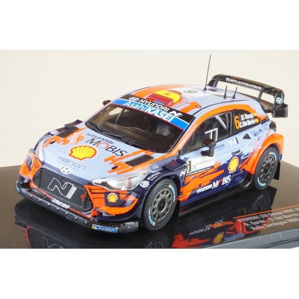 イクソ 1/43 ヒュンダイ i20 クーペ WRC No.6 2020 ラリー・サルデーニャ D.Sordo/C.Del Barrio 完成品ミニカー RAM763