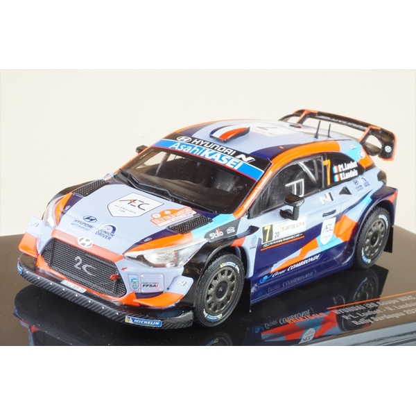 イクソ 1/43 ヒュンダイ i20 クーペ WRC No.7 2020 ラリー・サルデーニャ P-L.Loubet/V.Landais 完成品ミニカー RAM764LQ