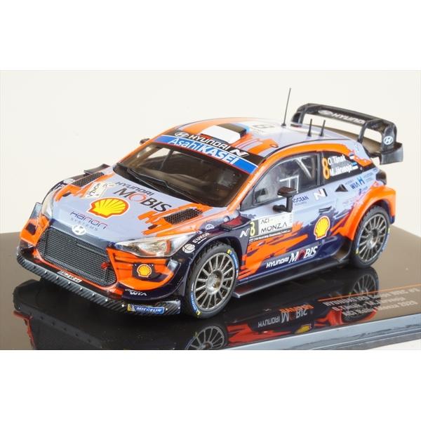 イクソ 1/43 ヒュンダイ i20 クーペ WRC No.8 2020 ACIモンツァラリー 2位 O.タナク/M.ヤルヴェオヤ 完成品ミニカー RAM769