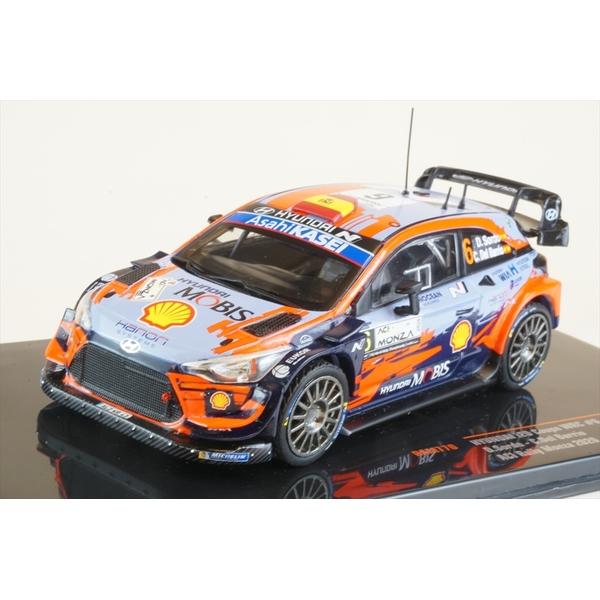 イクソ 1/43 ヒュンダイ i20 クーペ WRC No.6 2020 ACIモンツァラリー 3位 D.Sordo/C.Del Barrio 完成品ミニカー RAM770