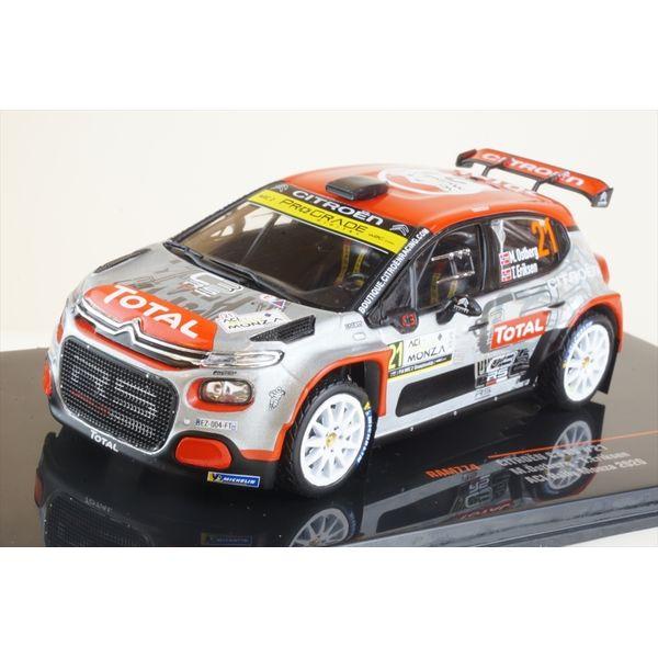 イクソ 1/43 シトロエン C3 R5 No.21 2020 WRC ACIラリー・モンツァ M.オストベルグ/T.エリクセン 完成品ミニカー RAM774