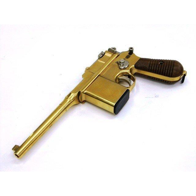 マルシン MARUSHIN モーゼル M712 ノーマル刻印 ウッドグリップ付 金属/発火モデルガン