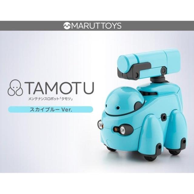 【5月予約】コトブキヤ 1/12 TAMOTU スカイブルーVer. 「MARUTTOYS」より キャラクタープラモデル KP573