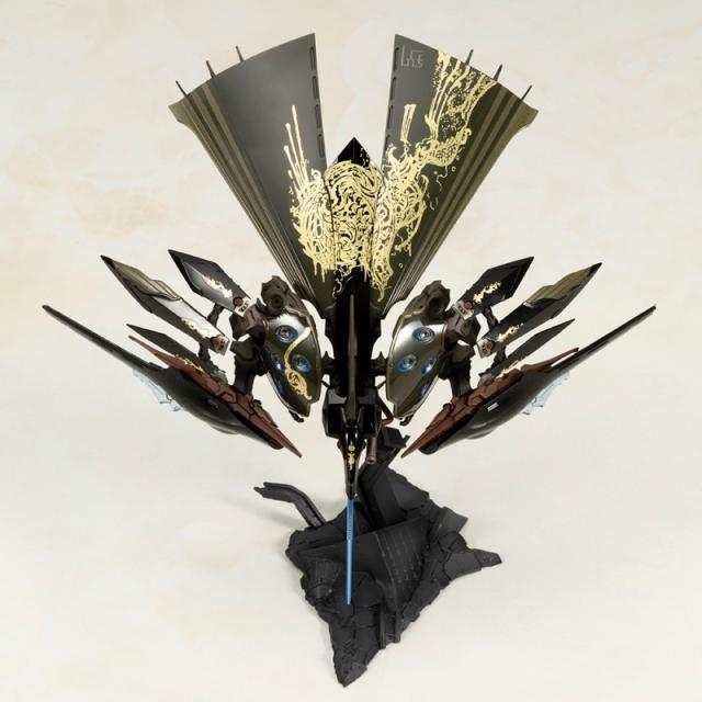 【5月予約】コトブキヤ 1/144 飛鉄塊 銀鶏[塗仏] 「斑鳩」より キャラクタープラモデル KP588