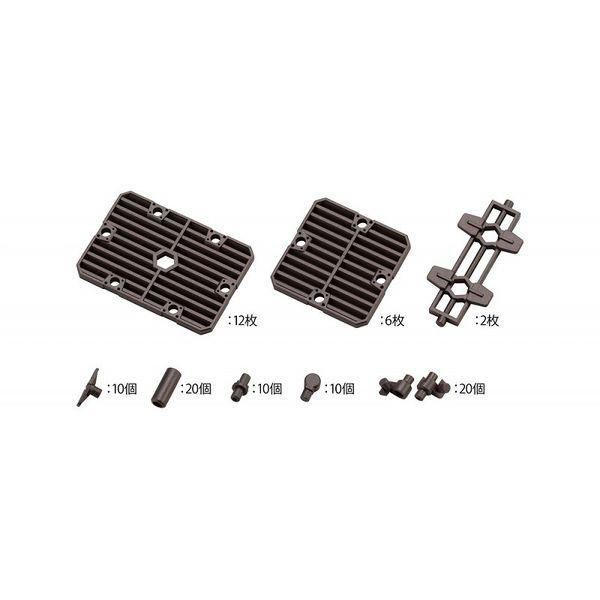 【10月予約】コトブキヤ 1/24 ブロックベース06 スラットプレートオプション 「ヘキサギア」より 模型用グッズ HG087