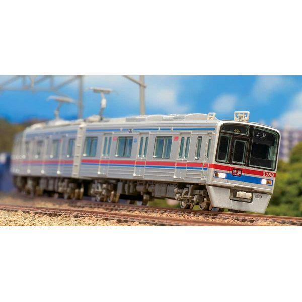 【1月予約】グリーンマックス Nゲージ 京成3700形 シングルアームパンタグラフ搭載 8両編成セット(動力付き) 鉄道模型 50688