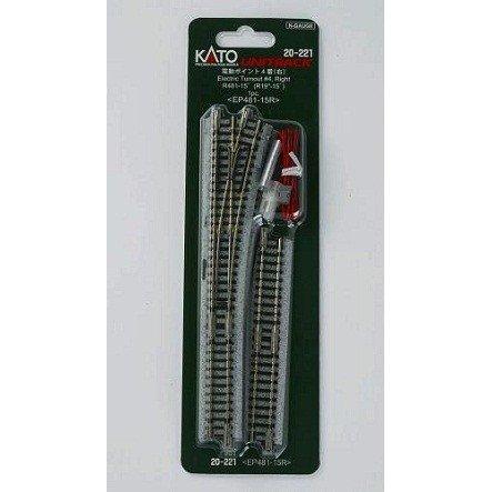KATO Nゲージ 電動ポイント4番(右) 鉄道模型パーツ 20-221 鉄道模型パーツ 20-221