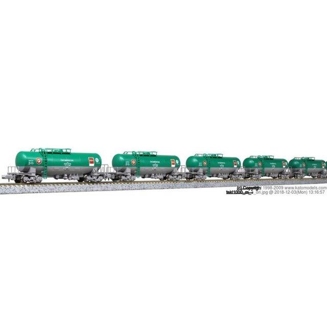 KATO タキ1000 日本石油輸送色 ENEOS(エコレールマーク付)8両セットB 鉄道模型 10-1167
