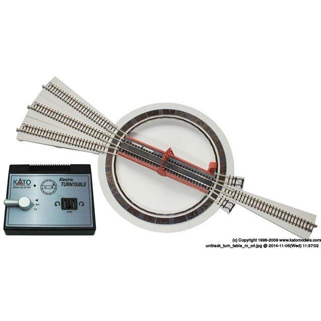 KATO Nゲージ 電動ターンテーブル 鉄道模型パーツ 20-283 鉄道模型パーツ 20-283