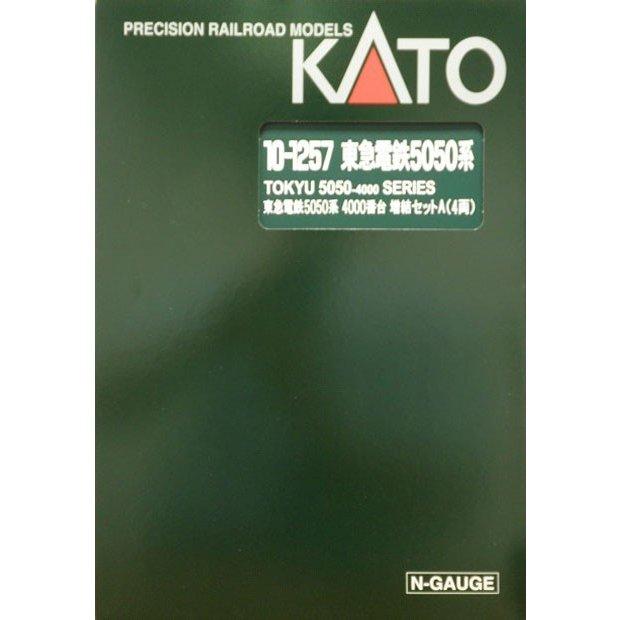 KATO Nゲージ 東急 5050系4000番台 4両増結Aセット 鉄道模型 10-1257