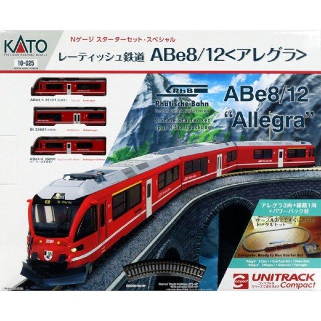 KATO Nゲージ スターターセット・スペシャル レーティッシュ鉄道アレグラ 鉄道模型 10-025