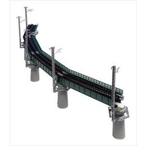 KATO Nゲージ カーブ鉄橋セットR448‐60°(緑) 鉄道模型パーツ 20-823