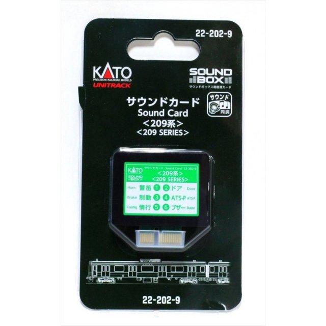 KATO  サウンドカード 209系  鉄道模型パーツ 22-202-9