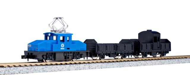 【5月予約】KATO Nゲージ チビ凸セット いなかの街の貨物列車(青) 鉄道模型 10-504-2