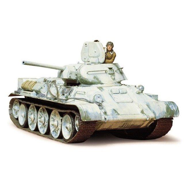 タミヤ 1/35 ソビエト T34/76戦車 1942年型 スケールモデル 35049