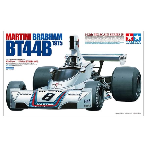 タミヤ 1/12 マルティーニ ブラバムBT44B 1975 スケールモデル 12042