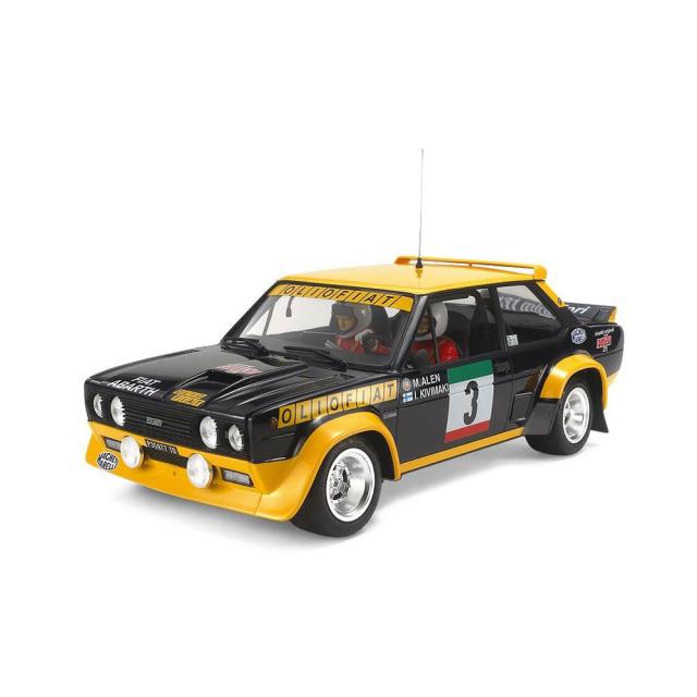タミヤ 1/20 フィアット 131 アバルト ラリー OLIO FIAT スケールモデル 20069