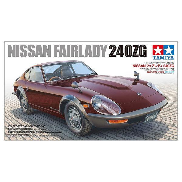 タミヤ 1/24 ニッサン フェアレディ 240ZG スケールモデル 24360