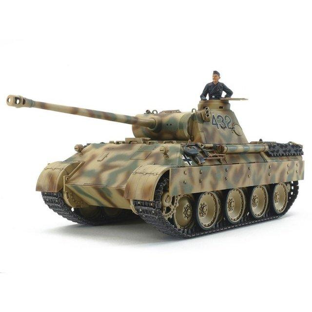 タミヤ 1/48 ドイツ戦車 パンサーD型 スケールプラモデル 32597