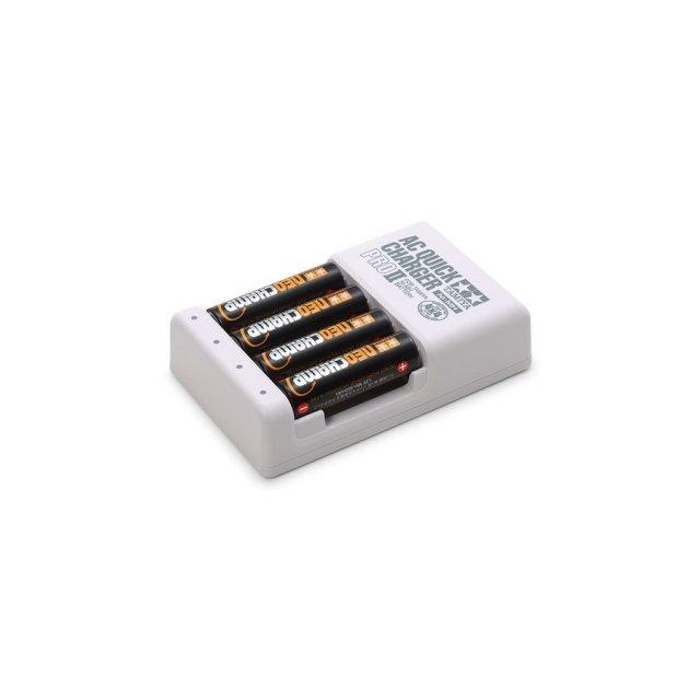 タミヤ ミニ四駆 単3形ニッケル水素電池 ネオチャンプ&急速充電器PRO2 模型用グッズ 55116