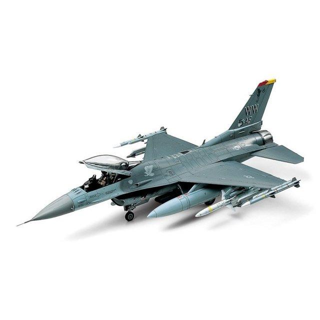 タミヤ 1/48 ロッキード マーチン F-16CJ[ブロック50]ファイティング ファルコン スケールモデル 61098