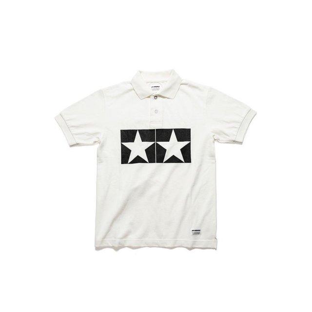 タミヤ JUN WATANABE タミヤポロシャツ (ホワイト/XS) フィギュア 67463