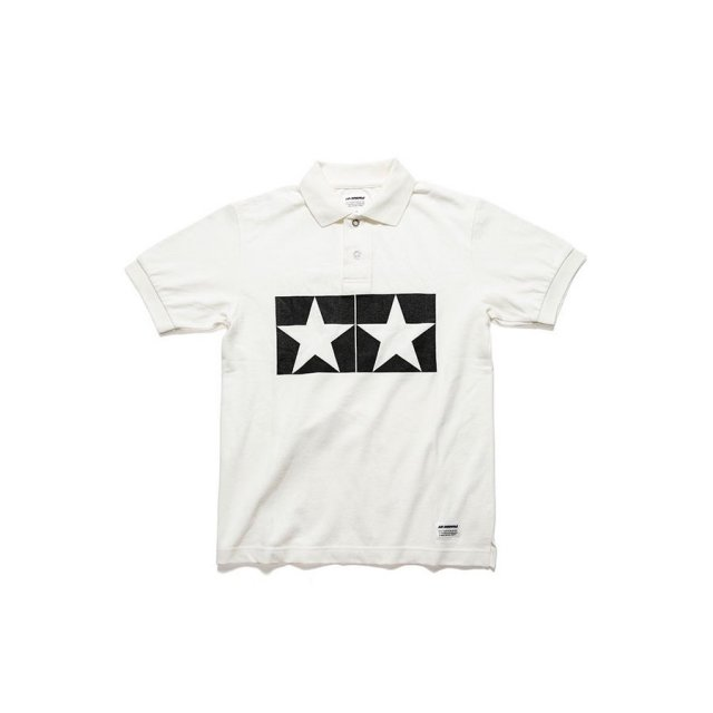 タミヤ JUN WATANABE タミヤポロシャツ (ホワイト/XL) フィギュア 67467