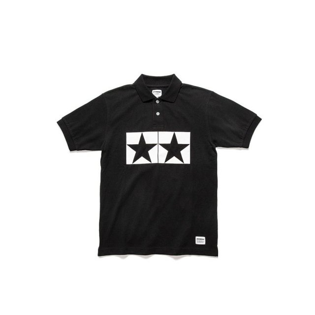 タミヤ JUN WATANABE タミヤポロシャツ (ブラック/M) フィギュア 67470