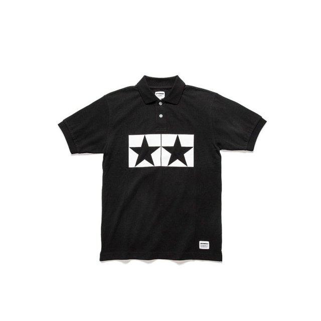 タミヤ JUN WATANABE タミヤポロシャツ (ブラック/XL) フィギュア 67472