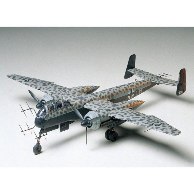 タミヤ 1/48 ハインケル He219 A-7 ウーフー スケールモデル 61057
