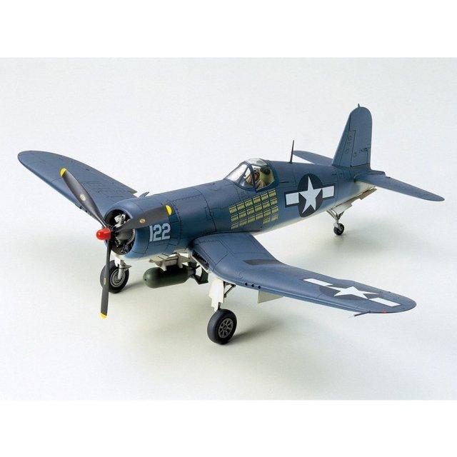 タミヤ 1/48 ヴォート F4U-1A コルセア スケールモデル 61070