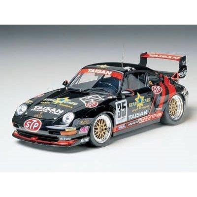 タミヤ 1/24 タイサン スターカード ポルシェ 911 GT2 フルディスプレイモデル スケールモデル 24175