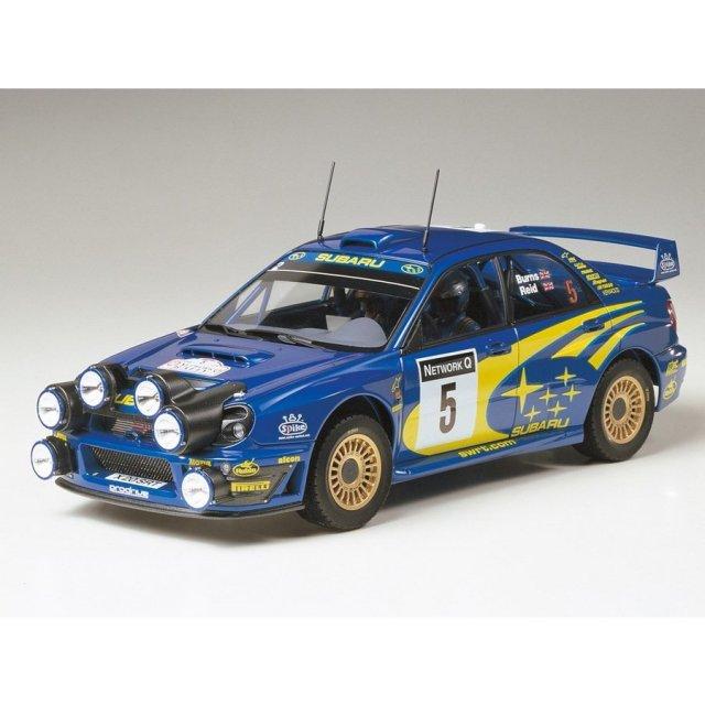 タミヤ 1/24 スバル インプレッサ WRC 2001 グレートブリテン スケールモデル 24250
