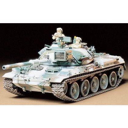 タミヤ 1/35 74式戦車 冬季装備 スケールモデル 35168