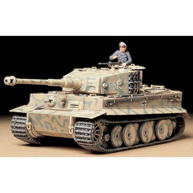 タミヤ 1/35 ドイツ重戦車 タイガーI 中期生産型 スケールモデル 35194
