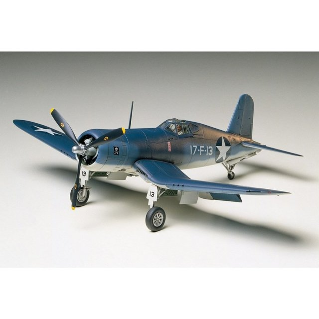 タミヤ 1/48 チャンスヴォート F4U-1/2 バードケージ コルセア スケールモデル 61046