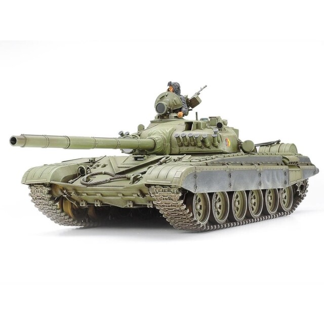タミヤ 1/35 旧ソビエト T72M1戦車 スケールモデル 35160