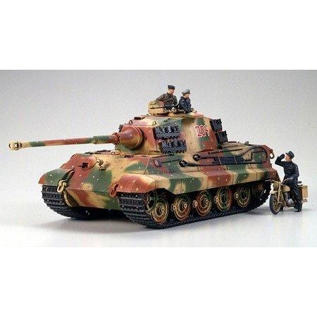 タミヤ 1/35 ドイツ・キングタイガー(アルデンヌ戦線) スケールモデル 35252