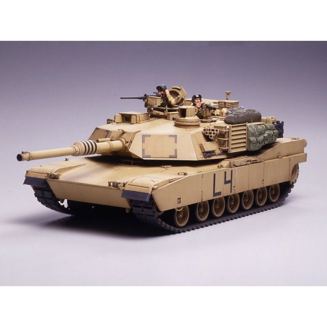 タミヤ 1/35 M1A2 エイブラムス戦車 イラク戦仕様 スケールモデル 35269