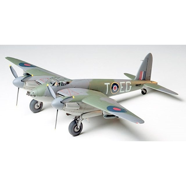 タミヤ 1/48 デ・ハビランド モスキート FB Mk.VI/NF Mk.II スケールモデル 61062