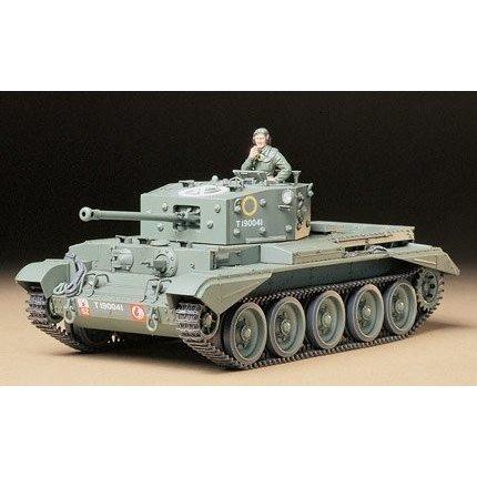 タミヤ 1/35 イギリス巡航戦車 クロムウェルMk.IV スケールモデル 35221